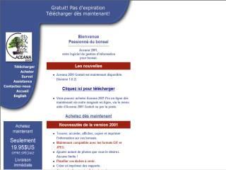 Capture d'écran Aceana Français