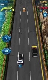 Capture d'écran Voiture de course Speed Racing