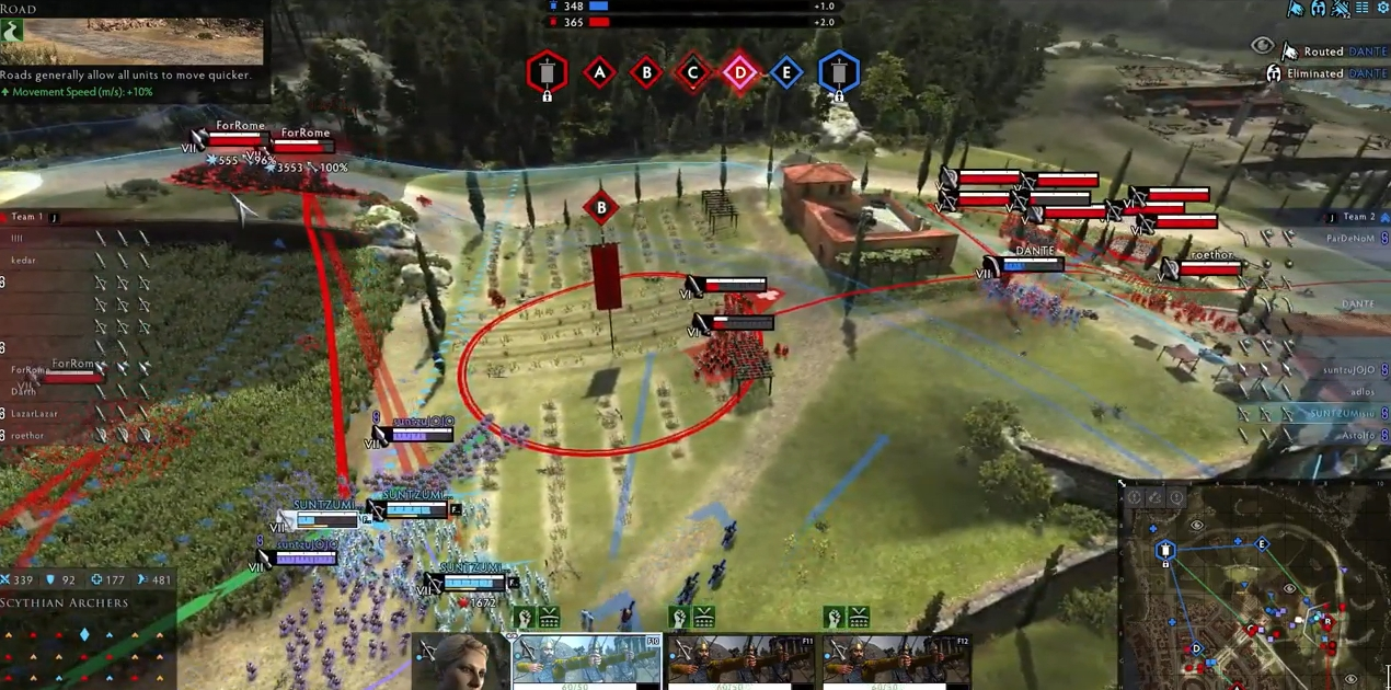 Capture d'écran Total War Arena