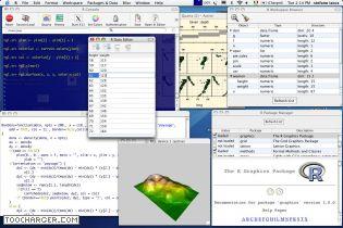 Capture d'écran R Mac