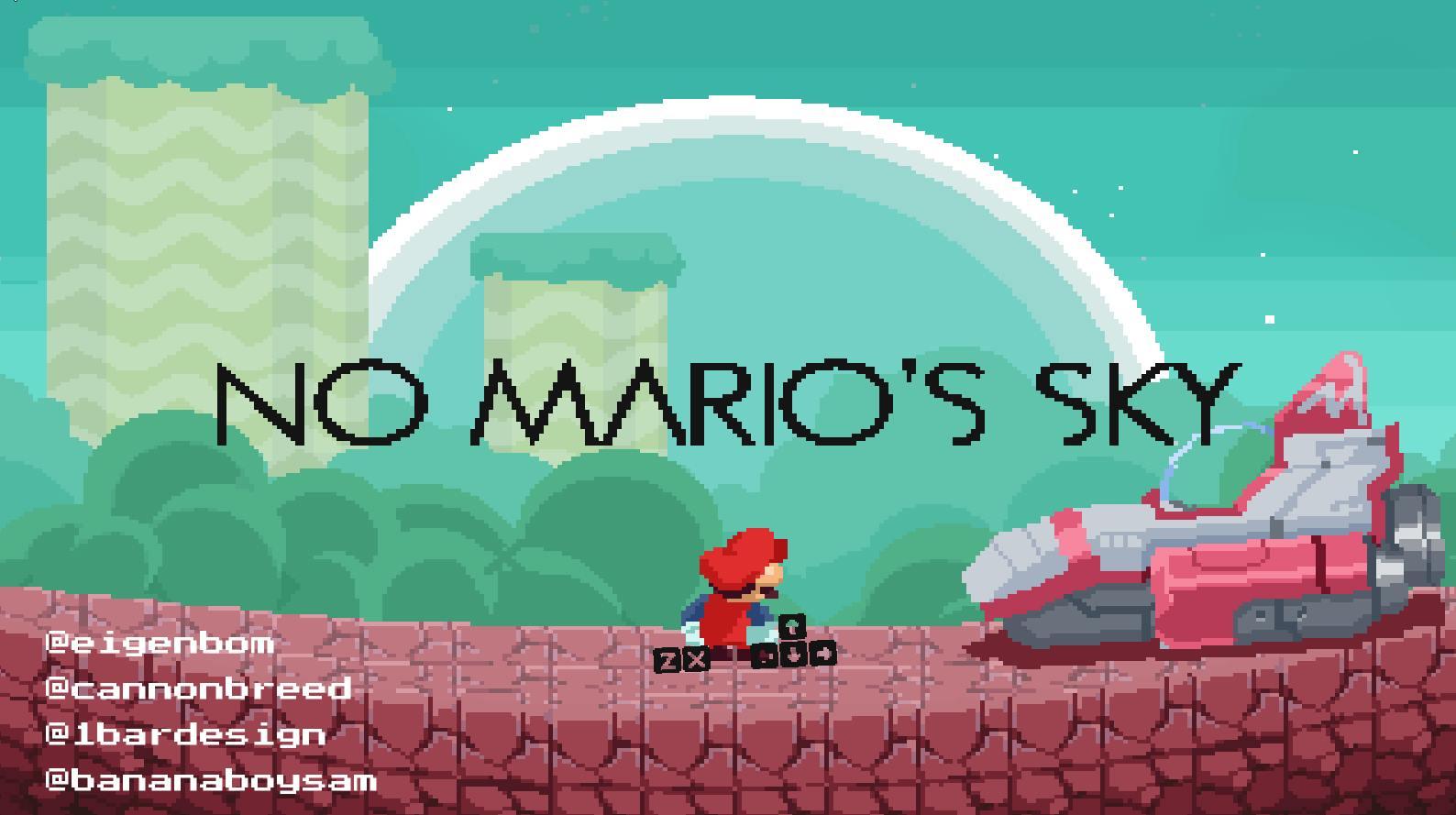 Capture d'écran DMCA's sky (ex – No Mario's Sky)