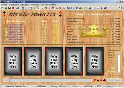 Capture d'écran Win Chip Poker Pro