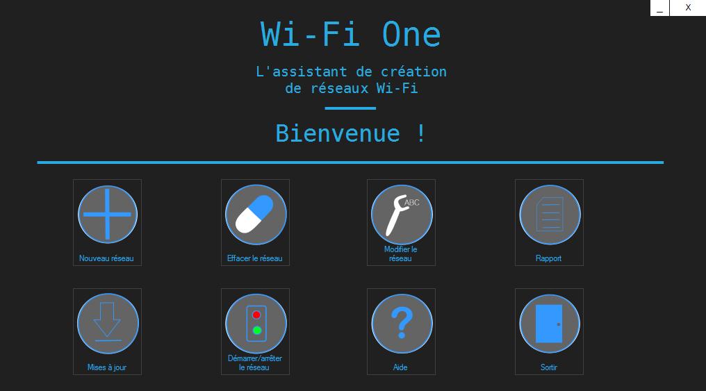 Capture d'écran Wi-Fi One Version 1.1.0