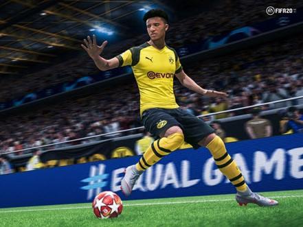 Capture d'écran FIFA 20