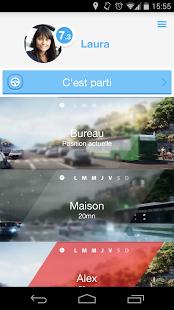 Capture d'écran AXA Drive