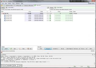 Capture d'écran GoodSync