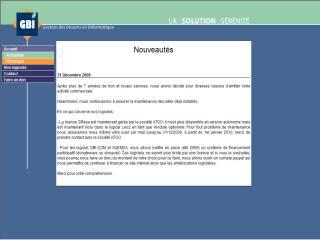 Capture d'écran GBI-COM