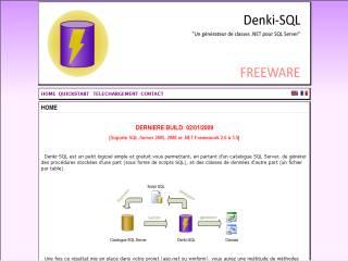 Capture d'écran Denki-SQL