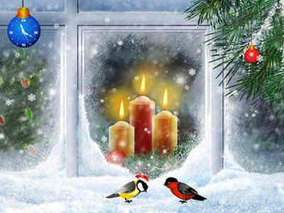 Capture d'écran Christmas Candles Screensaver