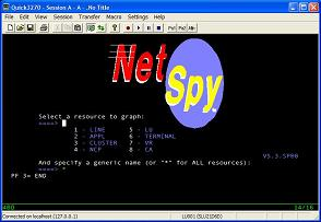 Capture d'écran Quick3270 Secure