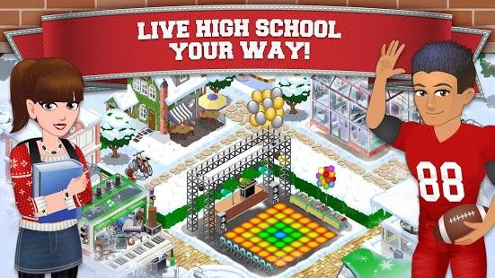 Capture d'écran High School Story