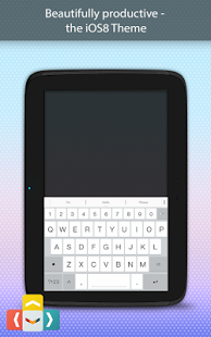 Capture d'écran Ai.type OS 8 Keyboard Theme
