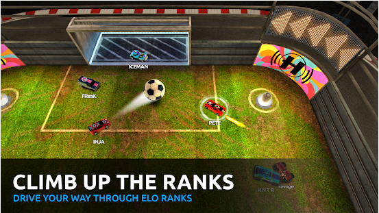 Capture d'écran Soccer Rally : Arena mobile (Android – iOs)