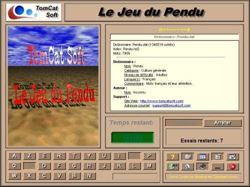 Capture d'écran Le Pendu