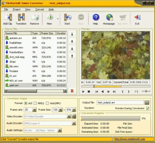 Capture d'écran MedianSoft