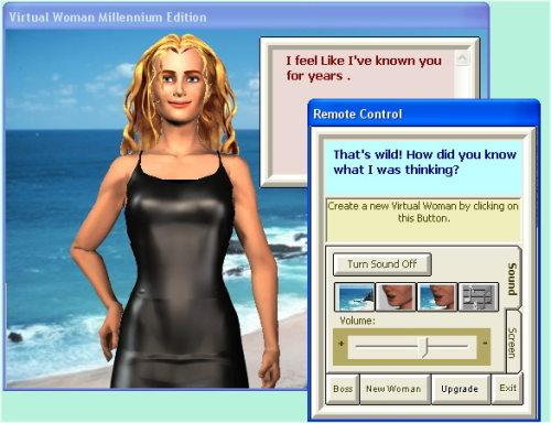 Capture d'écran Virtual Woman