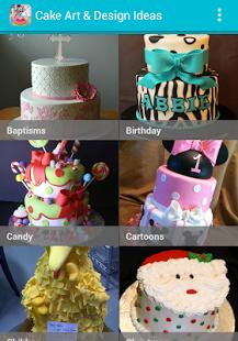 Capture d'écran Gâteau Art