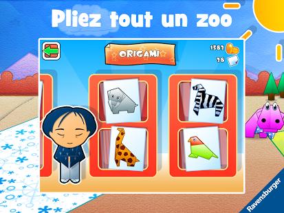 Capture d'écran Play-Origami Zoo