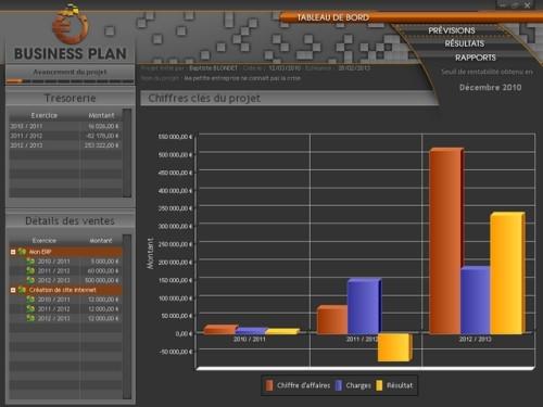 Capture d'écran POINKA Business Plan