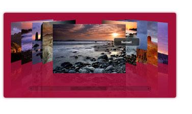 Capture d'écran PhotoFlow Flash Gallery CS3 Component