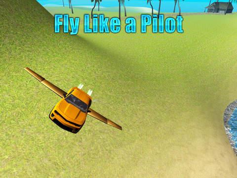 Capture d'écran Flying Car Driving Simulator iOS