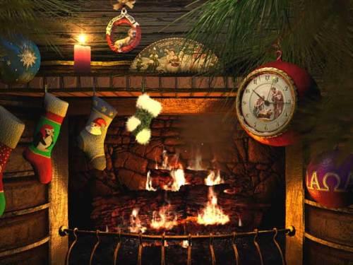 Capture d'écran Fireside Christmas 3D Screensaver