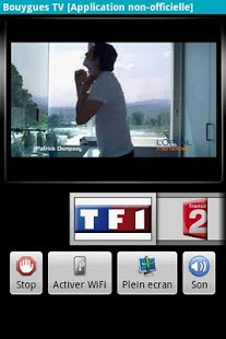 Capture d'écran Bouygues TV (non officiel)
