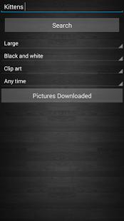 Capture d'écran Télécharger des images