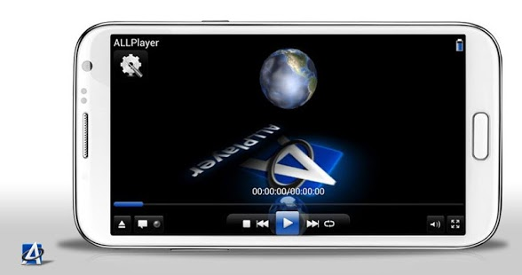 Capture d'écran ALLPlayer Video Player