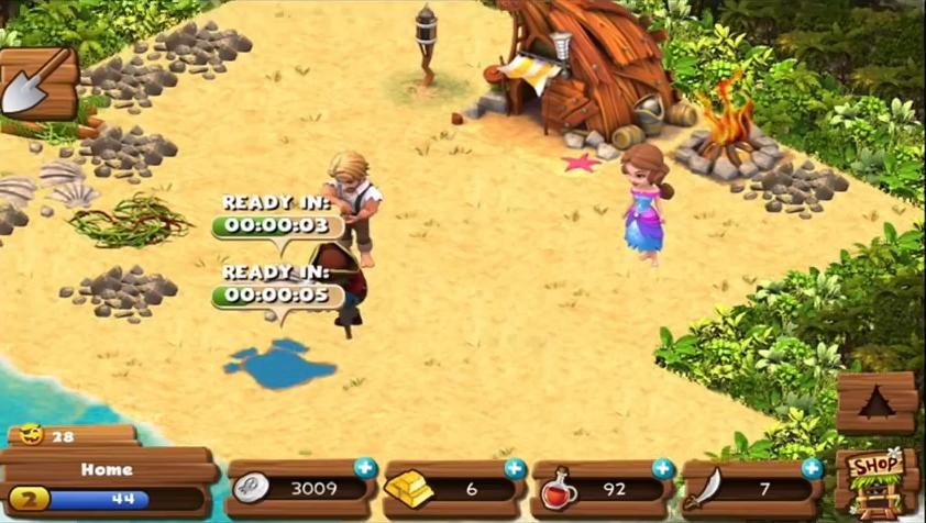 Capture d'écran Les naufragés : l'île perdue Android