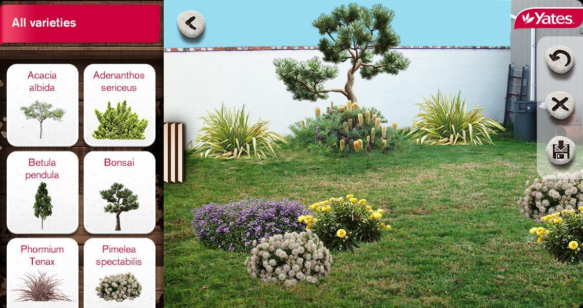 Capture d'écran Yates My Garden Android