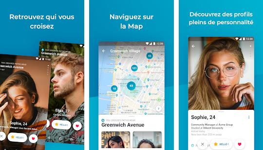 Capture d'écran Happn Android