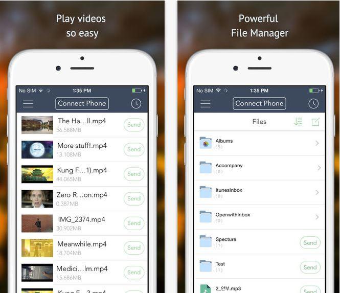 Capture d'écran Xender (Hyper Envoi ) iOS