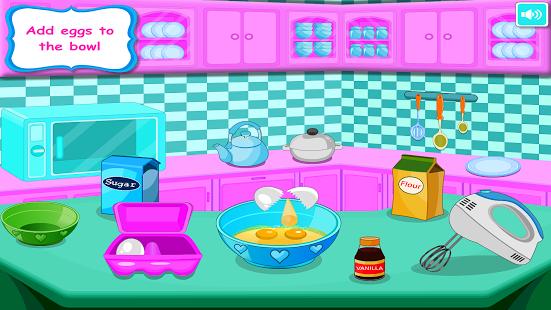 Capture d'écran Petits Gâteaux Jeux de cuisine