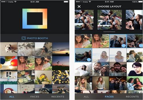 Capture d'écran Layout iOS