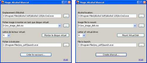 Capture d'écran Magic AZlcohol Shorcut