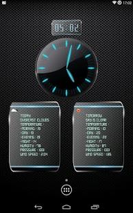 Capture d'écran Horloge et météo