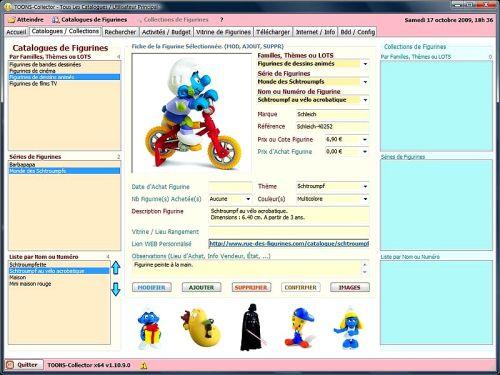 Capture d'écran TOONS-Collector