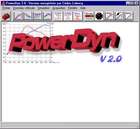 Capture d'écran PowerDyn
