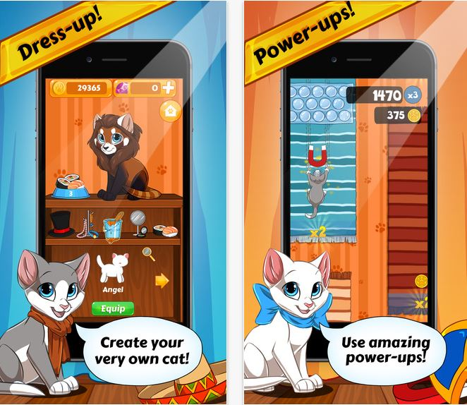Capture d'écran Carpet Kitty iOS