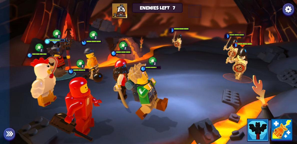Capture d'écran LEGO Legacy : Heroes Unboxed iOS