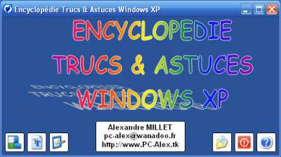 Capture d'écran Encyclopédie Trucs & Astuces Windows XP