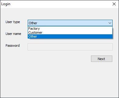 Capture d'écran MSM Download Tool