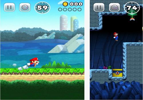 Capture d'écran Super Mario Run Android