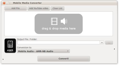 Capture d'écran Mobile Media Converter