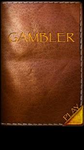 Capture d'écran Gambler