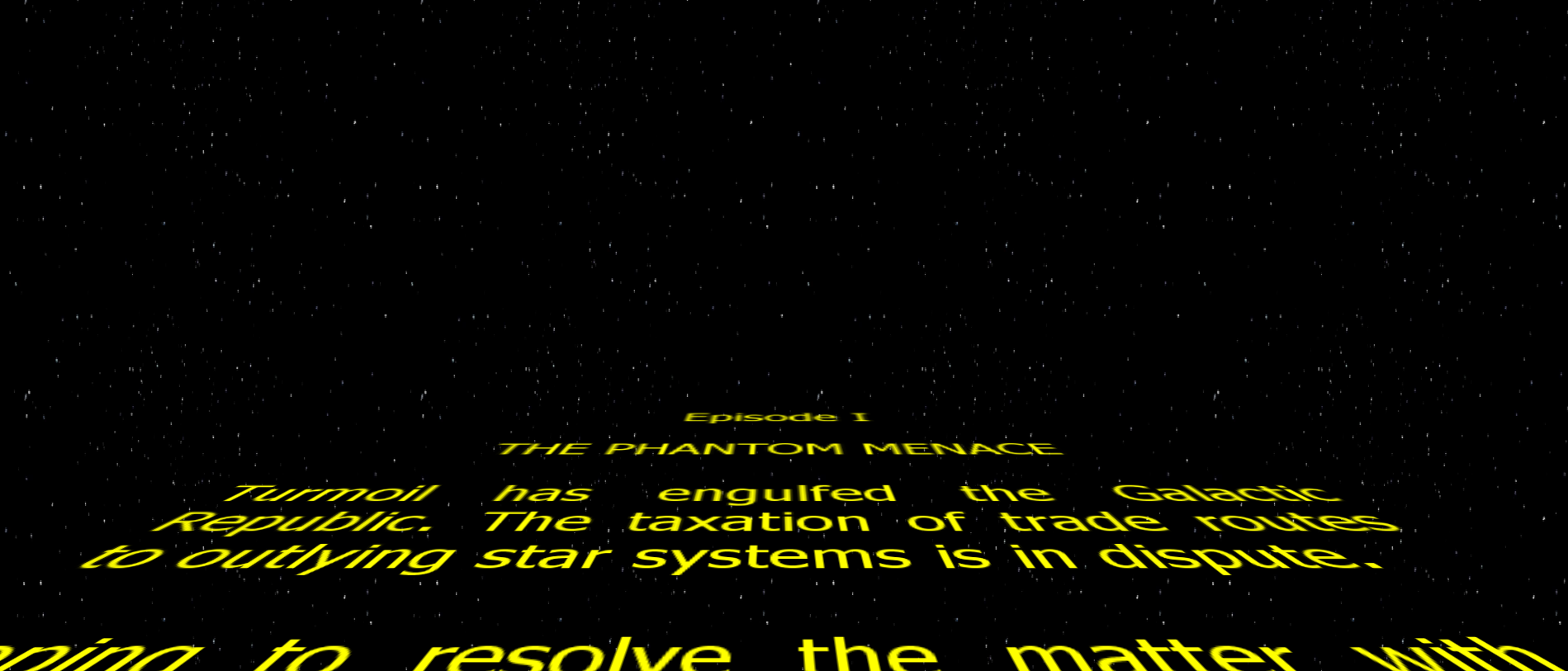 Capture d'écran zzStar Wars Screensaver
