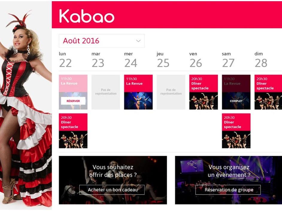 Capture d'écran Kabao