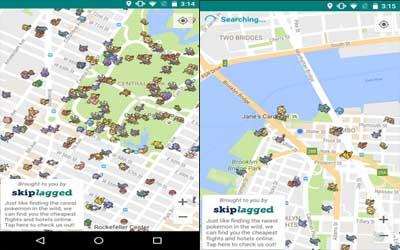 Capture d'écran Pokémap Live – Find Pokémon! Android