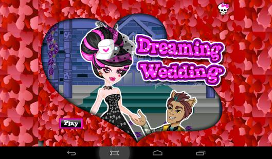 Capture d'écran Jeu Mariage de Monstre